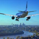 Handgepäckkoffer für eine Flugreise